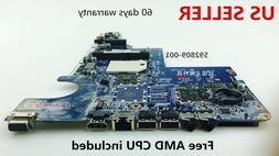 592809-001 Motherboard for HP CQ42 G42, CQ62 G62 AMD Laptop,