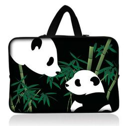 """Cute Panda 13"""" Carry Sleeve Case For 13.5"""" Microsoft Surface"""
