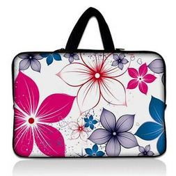 """Flowers 13"""" Carry Sleeve Case For 13.5"""" Microsoft Surface La"""