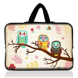 "Happy Owls 13"" Carry Sleeve Case For 13.5"" Microsoft Surface"