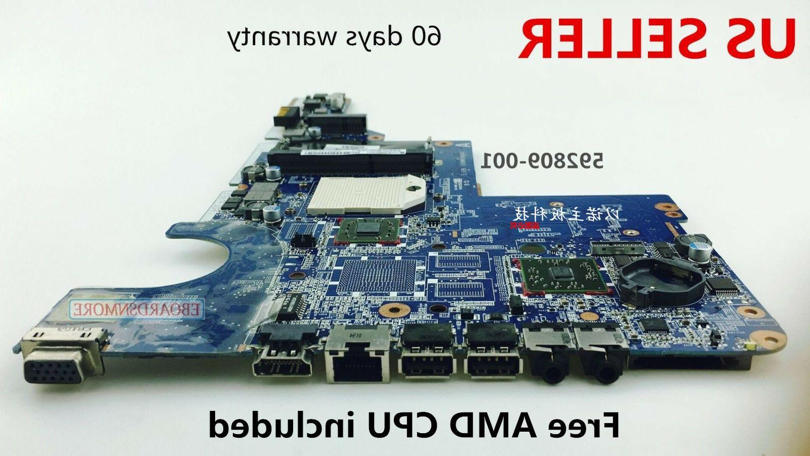 592809 001 motherboard for cq42 g42 cq62