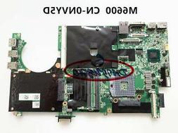 For Dell M6600 Precision  INTEL Laptop Motherboard CN-0NVY5D