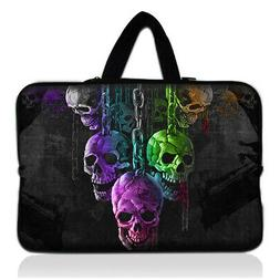 """Skulls 13 inch Carry Sleeve Case For 13.5"""" Microsoft Surface"""